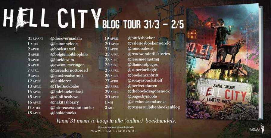 blogtour hell city